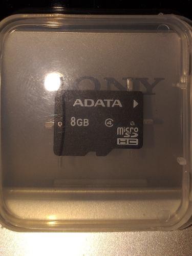Memoria Micro Sd 8gb Adata Clase 4