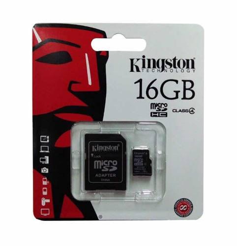 Memoria Micro Sd Kingston 16 Gb Class 4