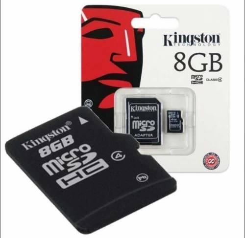 Memoria Micro Sd Kingston 8gb