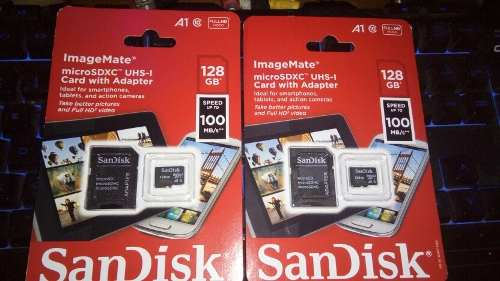 Micro Sd Sandisk 128 Gb Clase 10