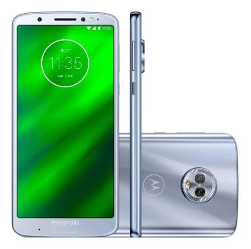 Motorola Moto G6 32gb 3gb Ram Dual Sim 8 Nucleos Huella 165v