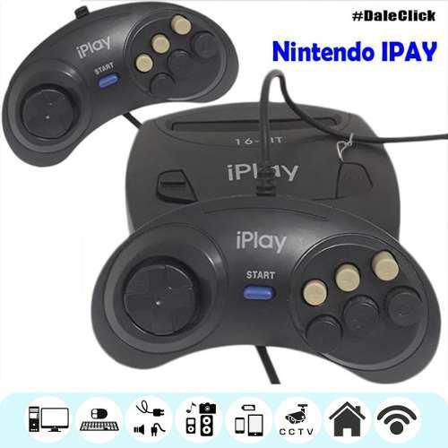 Nintendo Consola De Juego Iplay Dual Action Onida Ip-11