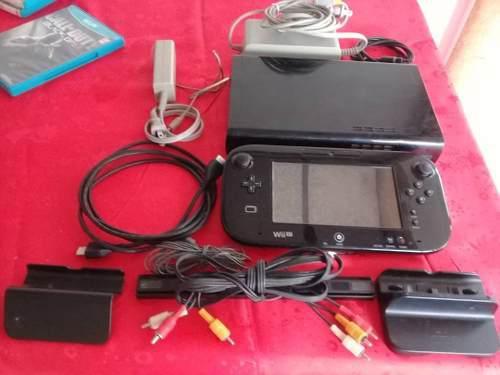 Nintendo Wii U Black 32gb (130) Call Of Duty Portatil Oferta