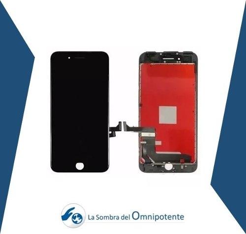 Pantalla Mica Tactil iPhone 7 Plus Negra Y Blanca Tienda