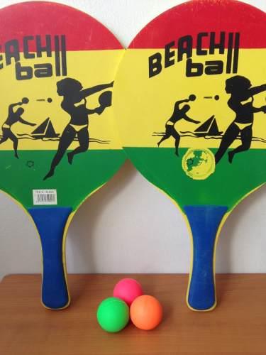 Raquetas De Playa (usado)