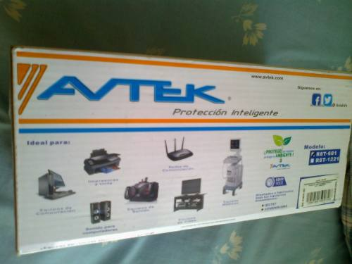 Regulador De Voltaje Avtek Modelo R8t-601