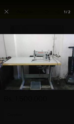 Se Vende Maquina De Coser Semi Industrial Con Su Mesa