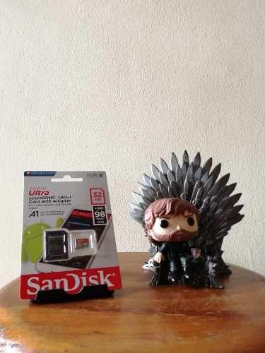 Tarjeta Micro Sd Marca Sandisk 32 Gb Clase 10 Nuevas.