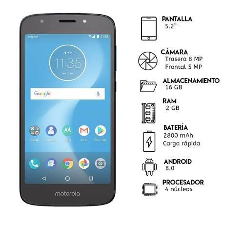 Teléfono Motorola Moto E5 Cruise 16gb Rom/ 2gb Ram