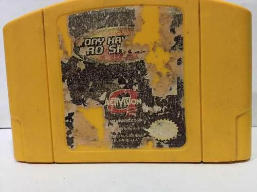 Tony Hawk Pro Skater 2. Juego De Nintendo 64. Original Usado