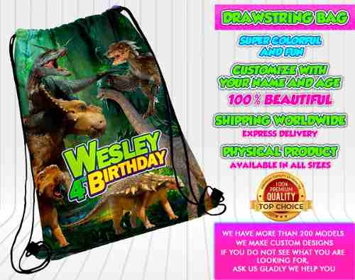 Bolso Tula Los Dinosaurios