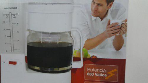 Cafetera Marca Premier 12 Tazas Nueva