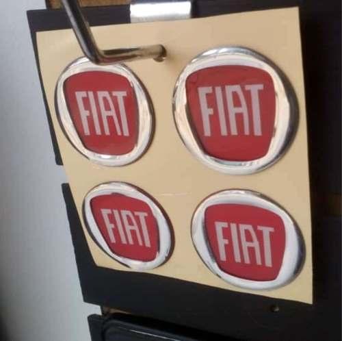 Calcomanias Centro De Rin En Relieve De Fiat Mod Nuevo