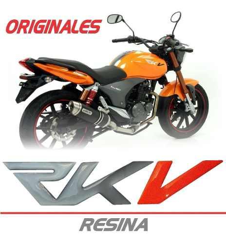 Calcomanias Rkv 200 Originales (Resina)