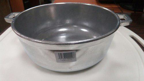 Caldero Aluminio Fuerte Pulido Primula 20 Cm Sin Tapa