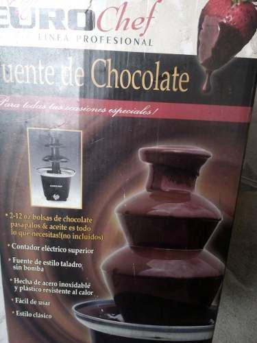 Fuente De Chocolate 3 Niveles Eurocheff