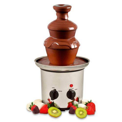 Fuente De Chocolate Fondue Chocolatera 3 Pisos Sujoya Nueva