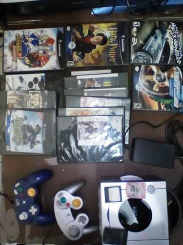 Game Cube Con Juegos