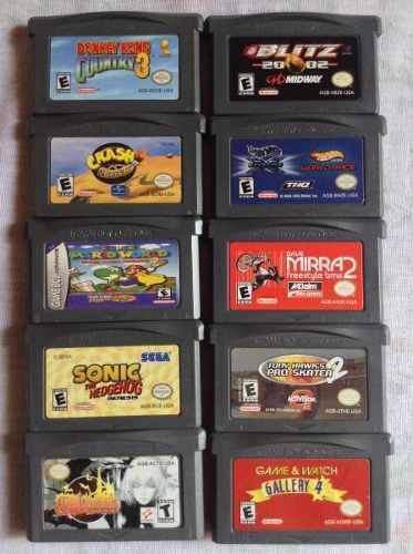 Juegos Para Gameboy Advance