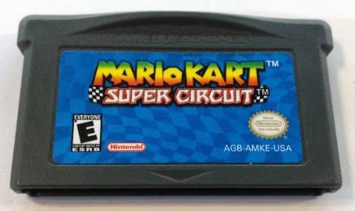 Mario Kart Game Boy Advance Gba Oferta Original