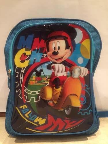 Morral Bolso Grande Mickey Mouse Disney Original Jetbag