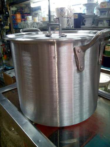 Olla Mondonguera 40 Litros Aluminio Fuerte