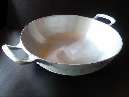 Paellera Arrocera Caldero De Aluminio 32 Cm 2 Mm Cocina Chef