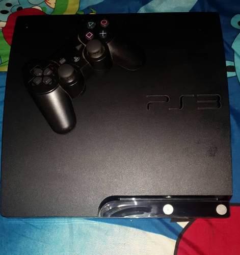 Play 3 Slim 160 Gb 7 Juegos Físico Poco Uso Remato 95$