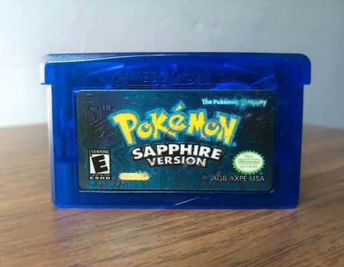 Pokémon Zafiro Gameboy Advance