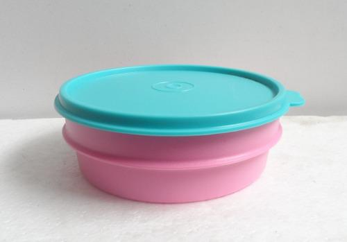 Tupperware Envase Plastico Con Tapa Ideal Para Loncheras