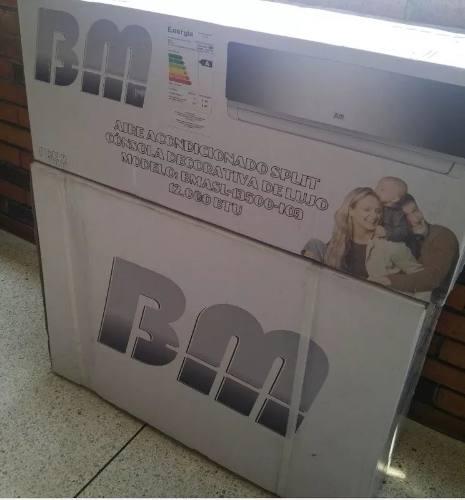 Aire Acondicionado Split Bm btu 220v Consola Decorativa