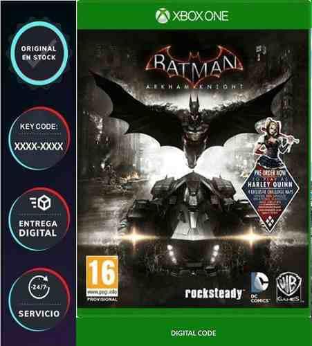 Batman: Arkham Knight Xbox One Codigo Digital Juega Online