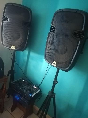 Combo De Sonido Profesional Cional Usado Solo En Casa