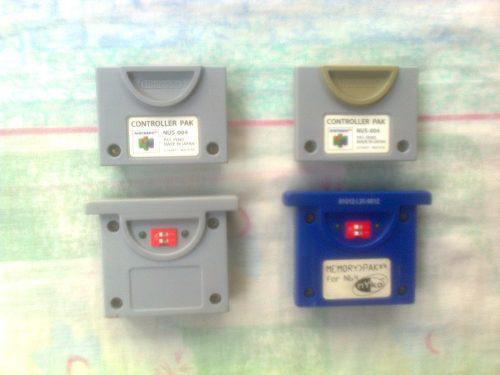 Controller Pak Nintendo 64,memory Card Nd 64