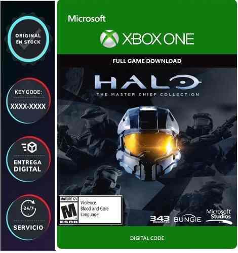 Halo: The Master Chief Xbox One Codigo Digital Juega Online