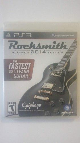 Rock Smith 2014 Para Ps3 Con Cable Edicion Guitarra