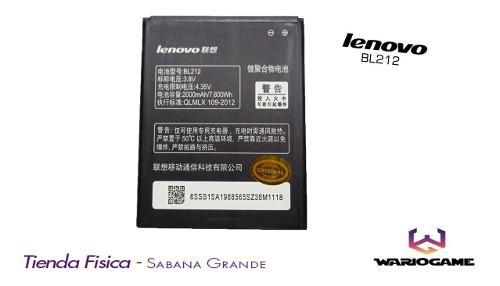 Batería Pila Lenovo Bl212 Somos Tienda Física