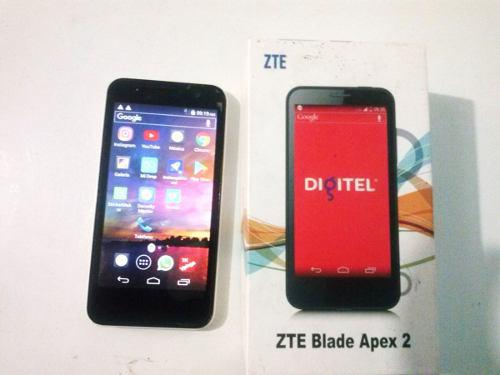 Celular Zte Blade Apex 2 Para Digitel Impecable 0 Detalle