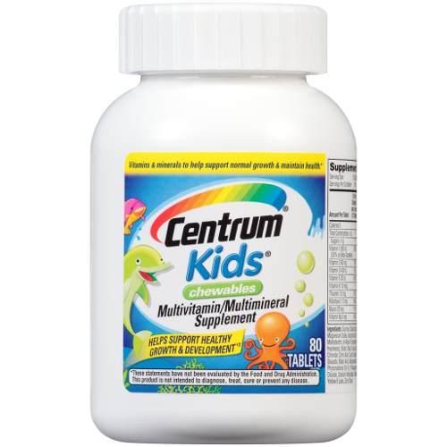 Centrum Kids Multivitaminico Masticable Original