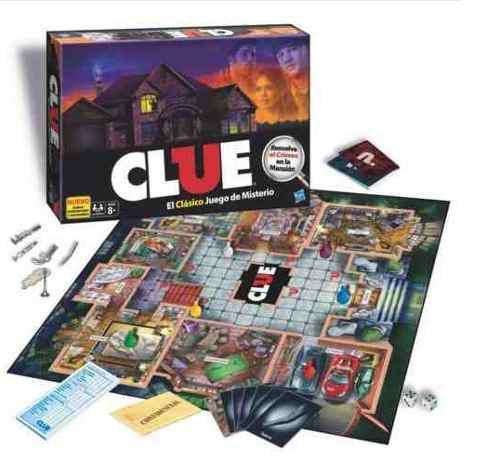 Clue Juego De Mesa El Clasico Juego De Misterio Nuevo
