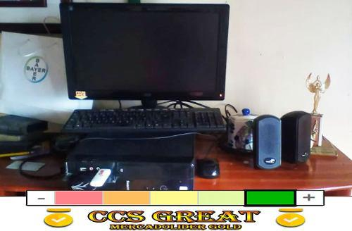 Computadora Dual Core 2,80ghz 2gbram 500gb Hdd Mon19. Tienda