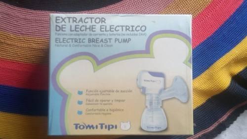 Estractor Electrico De Leche Materno A Bateria. Nuevo