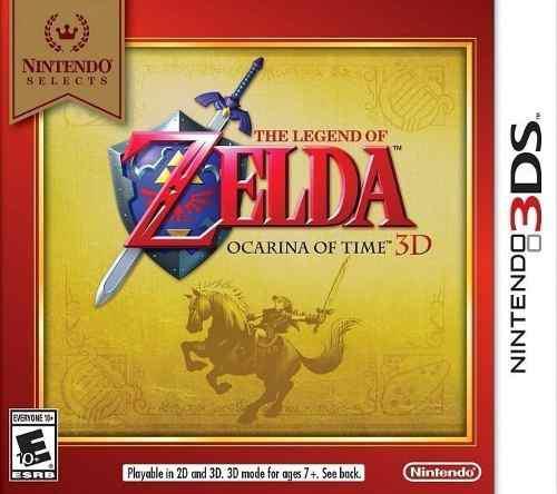 Juego 3ds The Legend Of Zelda Ocarina Of Time Nuevo Ja