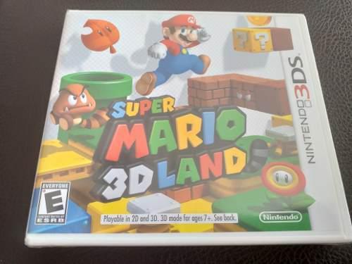 Juego Super Mario 3d Land Para Nintendo 3ds Nuevo Y Sellado