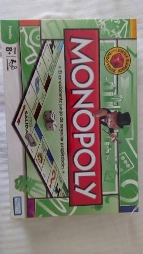 Monopolio Original De Hasbro. Juego De Mesa