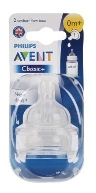 Set De 2 Tetinas Clasicas Philips Avent Plus