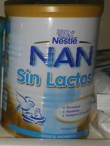 Tetero De Formula Nan Sin Lactosa De 0-12meses