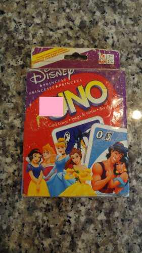 Uno Juego Cartas Princesas Disney