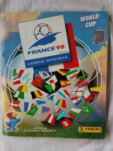 Albun Panini France 98