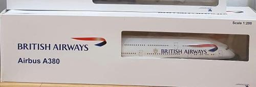 Avion Escala British Airways A380 Hogan Wings